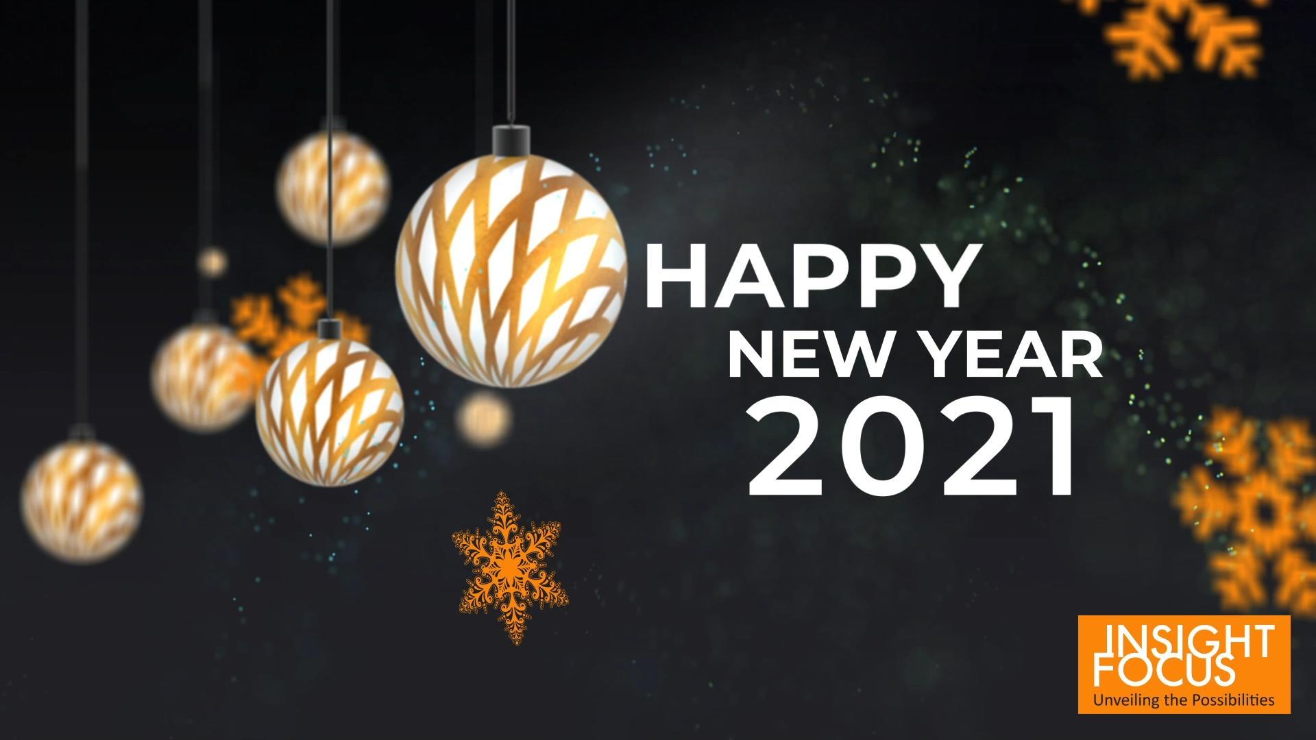 告别2020,迈向美好的2021年!