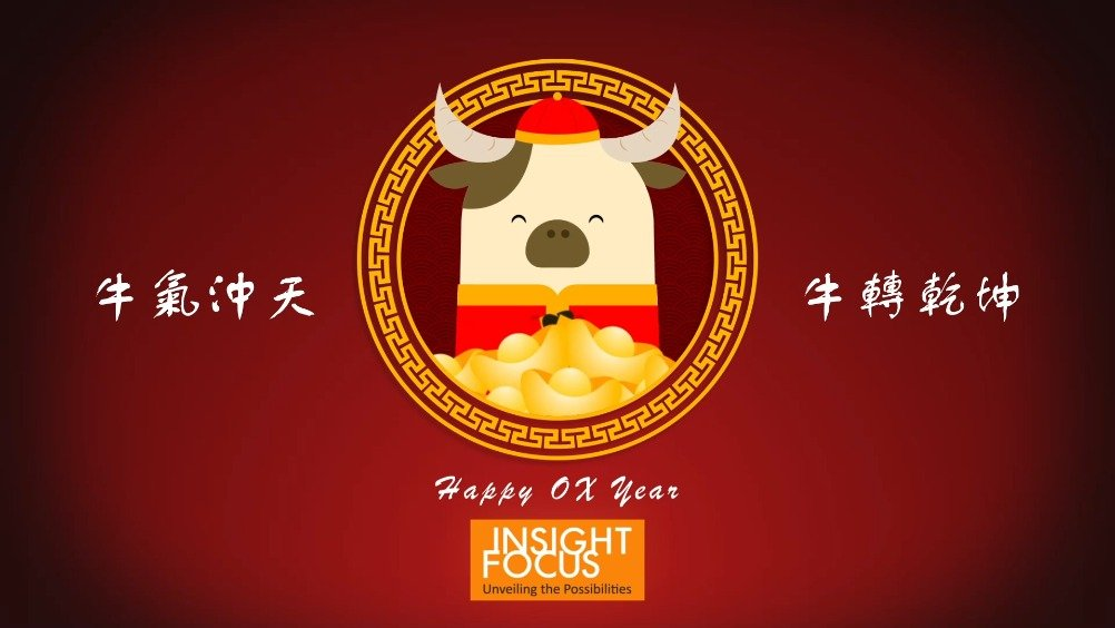 Wish You a Happy and Prosperous Year of the OX!